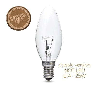 klasická žárovka Edison